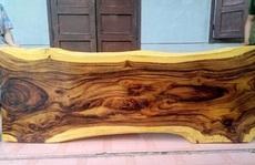 Mộc mạc với nội thất từ gỗ Me Tây