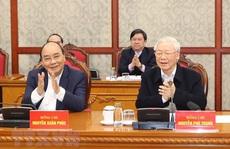 Chùm ảnh: Tổng Bí thư, Chủ tịch nước chủ trì phiên họp Bộ Chính trị, Ban Bí thư khóa XIII