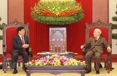 Tổng Bí thư, Chủ tịch nước Nguyễn Phú Trọng tiếp Bộ trưởng Công an Trung Quốc