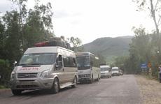 Bình Định: Ùn tắc vì hành khách đi xe từ 'ổ dịch' Gia Lai chưa khai báo y tế