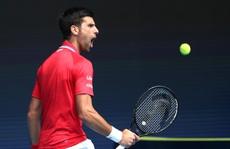 Djokovic thắng trận ra quân ATP Cup 2021