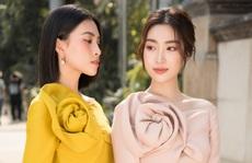 Đỗ Mỹ Linh - Tiểu Vy 'mười phân vẹn mười' trong áo dài du xuân