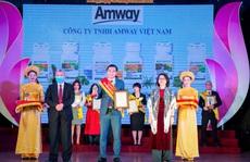 """Amway Việt Nam nhận giải thưởng """"Sản phẩm vàng vì sức khỏe cộng đồng"""""""