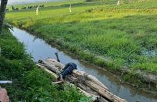 Say rượu, người đàn ông ở Quảng Nam rơi xuống mương tử vong