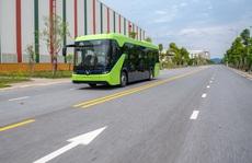 Xe buýt điện sắp chạy trên phố Hà Nội