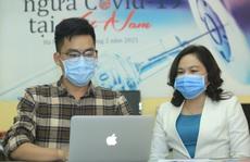 Giao lưu trực tuyến 'Tiêm vắc-xin ngừa Covid-19 tại Việt Nam'