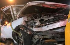 Xe 7 chỗ gặp nạn trên đèo Bảo Lộc, 4 người trong gia đình thương vong