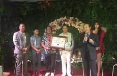 Cuốn sách 'Kiều @- Cú máy linh hồn' nhận kỷ lục Guinness Việt Nam