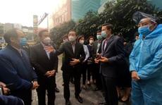 Chủ tịch Chu Ngọc Anh thị sát chung cư 88 Láng Hạ sau ca Covid-19 phức tạp
