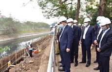 Bí thư Vương Đình Huệ thị sát dự án vừa cấp bách vừa đặc biệt quan trọng của Hà Nội