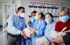 """'Tết ấm cho người vô gia cư"""" đến với Trung tâm Bảo trợ xã hội Đà Nẵng"""