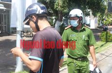 CLIP: Bạc Liêu ra quân xử phạt người không đeo khẩu trang nơi công cộng