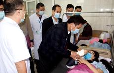 Nữ nhân viên y tế bị tai nạn trên đường đi lấy mẫu xét nghiệm Covid-19