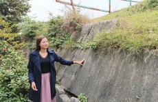 Tảng đá kỳ lạ in hình đầu người và đôi bàn tay ở Thành nhà Hồ