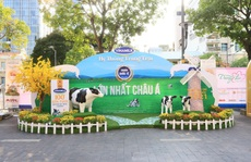 Vinamilk mang món quà sức khỏe đến Lễ hội Đường sách Tết Tân Sửu năm 2021