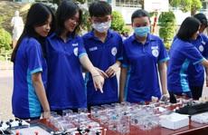 Học sinh chế tạo nhiều sản phẩm thực tiễn