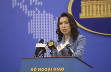 Việt Nam phản ứng việc Trung Quốc tổ chức diễn tập trái phép trên đảo Tri Tôn