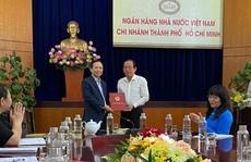 Ông Tô Duy Lâm thôi làm Giám đốc Ngân hàng Nhà nước chi nhánh TP HCM