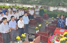 Dâng hương tri ân, tưởng nhớ 64 liệt sĩ Gạc Ma