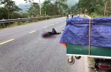Thanh niên chết bất thường giữa đường ở Quảng Nam: Do tai nạn giao thông