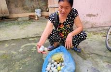 Bóng golf 'oanh tạc' làm bể mái tôn, cửa kính và uy hiếp người dân ở Quảng Bình