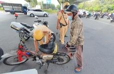 CSGT TP HCM tịch thu gần 200 xe 'cà tàng' trong ngày đầu tiên ra quân truy quét