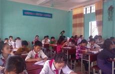 Lớp học 'đặc biệt' của người Bru-Vân Kiều