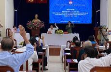 TP HCM có 15 người tự ứng cử Đại biểu Quốc hội khóa XV