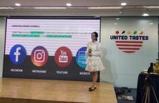 Sản phẩm nông nghiệp Mỹ đến gần người Việt qua Facebook, Youtube…
