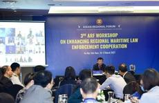 Tăng cường hợp tác thực thi pháp luật trên biển
