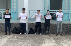 Thoát qua cửa khẩu ở Lạng Sơn, 5 người Trung Quốc bị bắt giữ tại An Giang