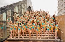 Hấp dẫn nhan sắc Hoa hậu Hòa Bình Thế giới 2020 diện bikini