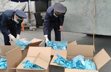Khởi tố vụ doanh nghiệp nhập khẩu gần 6 tấn găng tay đã qua sử dụng