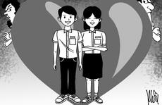 Học sinh yêu sớm: Cấm đoán hay 'vẽ đường'?
