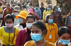 Covid-19: Campuchia ra thông báo khẩn trong đêm