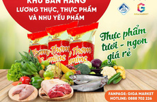 Khu bán hàng lương thực thực phẩm và nhu yếu phẩm Giga Market đi vào hoạt động