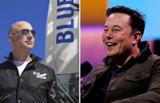 Tỉ phú Elon Musk 'cà khịa' chua cay Jeff Bezos