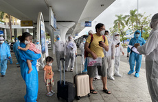 Đà Nẵng đón 2 chuyến bay đưa 331 người từ TP HCM về quê
