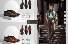 3 mẫu giày Boris dẫn đầu xu hướng giày da nam 2021
