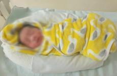 Người phụ nữ bịt mặt bỏ lại bé sơ sinh ở tổ trực Covid-19 của bệnh viện