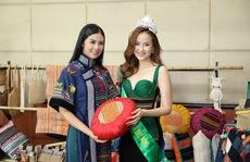 Hoa hậu Khánh Ngân tiết lộ lý do vội vã lên Đắk Nông