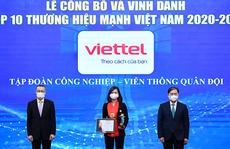 Viettel được công nhận là thương hiệu hàng đầu của Việt Nam
