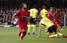 Salah lập 'siêu phẩm' tựa bàn thắng của Ronaldinho và Maradona