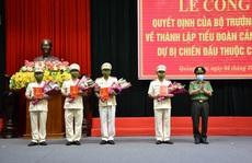 Thành lập Tiểu đoàn Cảnh sát cơ động dự bị chiến đấu tại Quảng Nam