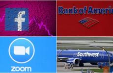 Sự cố sập mạng xảy ra với Bank of America, Southwest Airlines, Zoom...