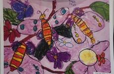 Hai chị em ở Hà Nội đoạt giải cuộc thi vẽ tranh quốc tế dành cho thiếu nhi