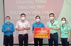 Hà Nội: Hỗ trợ công nhân khó khăn