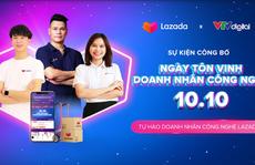 Lazada Việt Nam khởi xướng Ngày tôn vinh doanh nhân công nghệ