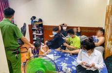 6 nam, 1 nữ mở tiệc ma túy tại căn hộ ven biển Đà Nẵng