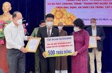 TP HCM: Hơn 108 tỉ đồng hỗ trợ người khó khăn, trẻ mồ côi